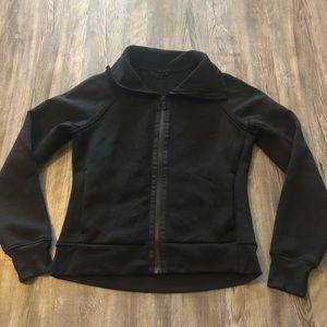 Black Lululemon Zip-Up Sweatshirt size 6